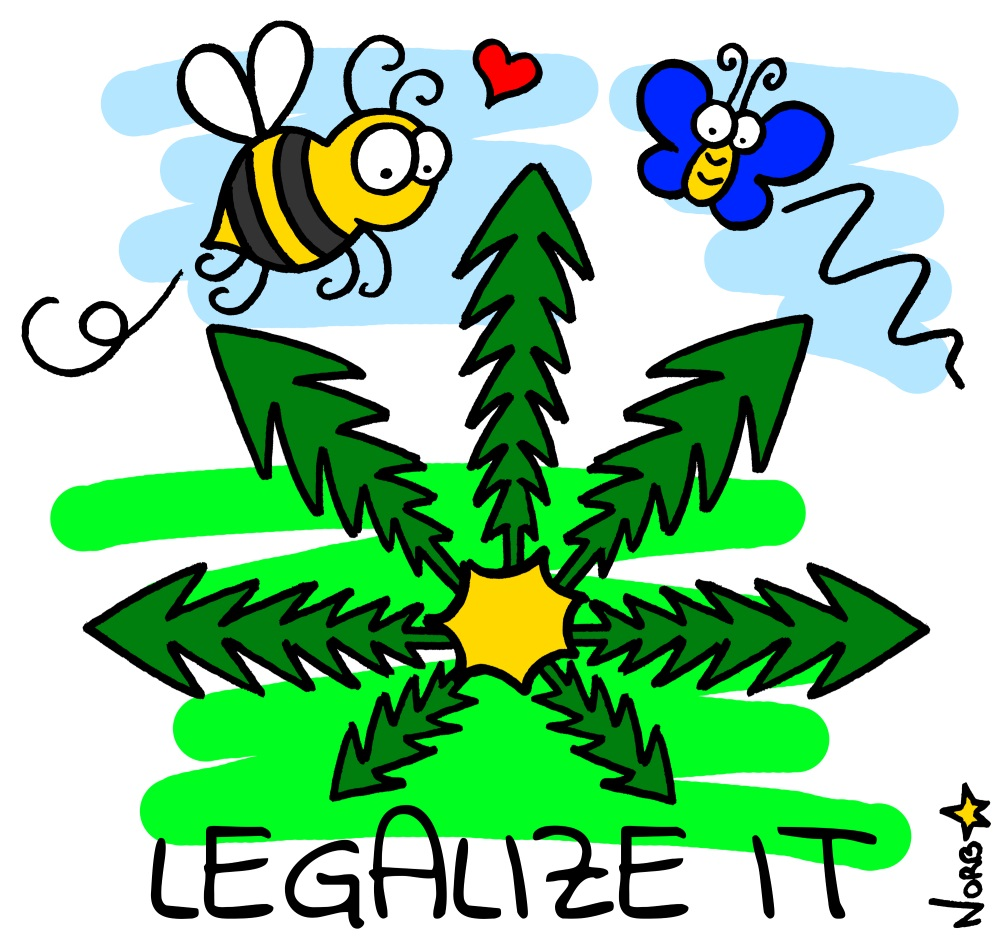 Legalize it! par Sauvages du Poitou